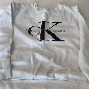 Calvin Klein branded sweater in small